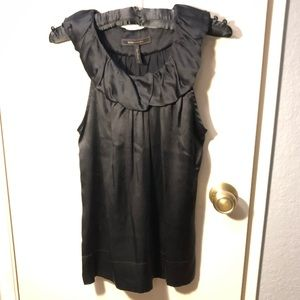 BCBGMaxAzria Black sleeveless blouse size Small